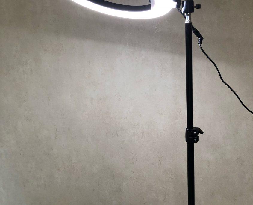 Wynajem lampa pierscieniowa